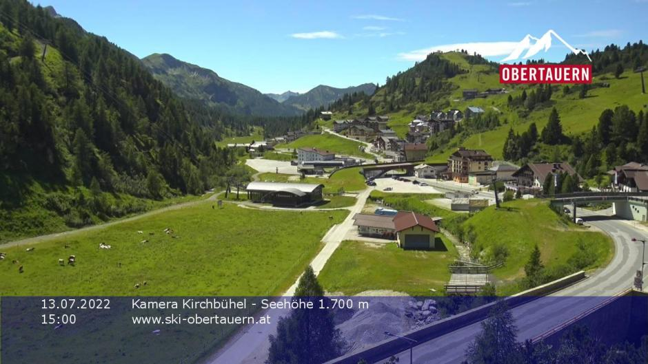 Obertauern webcam - Zehnerkar
